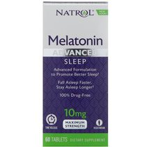Natrol Melatonin Advanced Sleep 10 mg (60 таб)