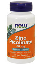 NOW Zinc Picolinate 50 мг (120 капс)