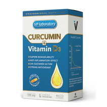 VP Lab Curcumin & Vitamine D3 (60 капс)