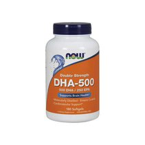 NOW DHA 500 mg (180 капс)