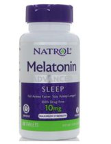 Natrol Melatonin 10mg (60 таб)