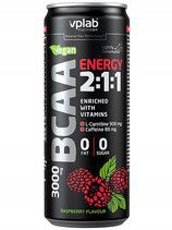 VP Lab BCAA Energy 2:1:1 (330ml) Малина