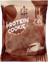 Fit Kit Protein chocolate сookie (50 г) Капучино