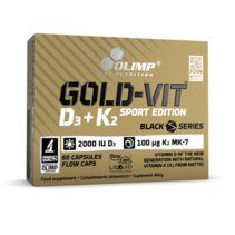 Olimp Gold-Vit D3+K2 Sport Edition (60 капс)