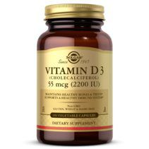 Solgar Vitamin D3 55 Mg (2200 Iu) Vegetable Capsule (50 vcaps)