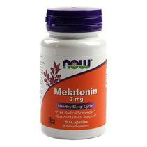 NOW Melatonin 3 mg (60 капс)