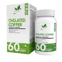 NaturalSupp Chelated Copper (60 капс)