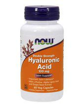 NOW Hyaluronic Acid 100mg (60 капс)