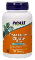 NOW Potassium Citrate (180 капс)