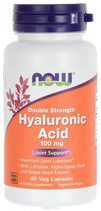 NOW Hyaluronic Acid 100MG 2X PLUS (60 капс)