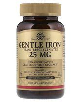 Solgar Gentle Iron 25 mg (180 капс)