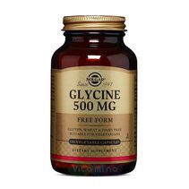 Solgar Glycine 500 mg (100 вег. капс.)