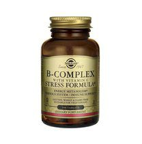 Solgar B-Complex With Vitamin C Stress Formula (100 таб.)